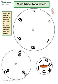 Word Wheels Long and Short Vowel Sounds