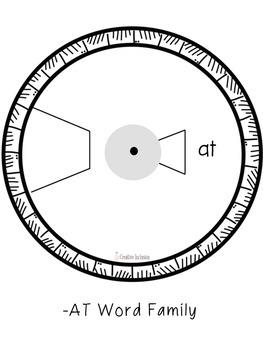 Word Wheels Short A Phonics FREE Sample!