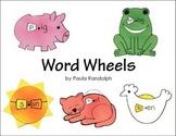 Word Wheels - Short Vowel Sounds - Set 1