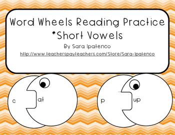 Word Wheels: Short Vowels