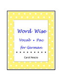 Word Wise Vocab * Pac For German
