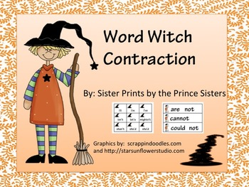 Word Witch Contractions