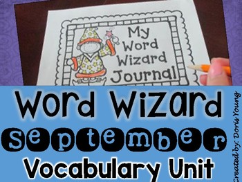 Word Wiz BUNDLE: Vocabulary Words, Journal and Resources for the Year