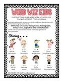 Word Wiz Kids (Parts of Speech, Synonyms, Antonyms, Homonyms)