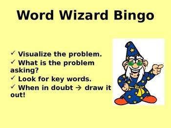Word Wizard Bingo - 5th Grade Fractions