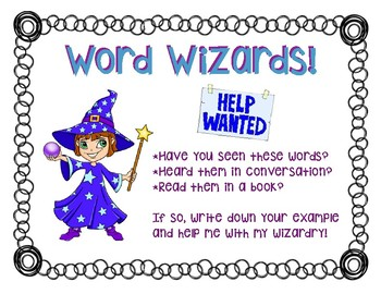 Word Wizard Cards