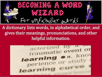 Word Wizard: Dictionary Skills