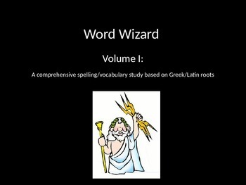 Greek and Latin Roots Bundle - Volume I