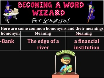 Word Wizard: Homonyms