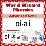 Word Wizard Phonics Advanced Set 1: Vowels oi.ai