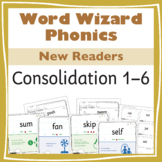 Word Wizard Phonics Extended Consolidation for New Readers 1–6