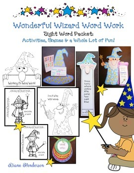 Word Wizard Sight Word Packet