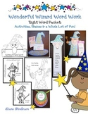 Sight Word Activities: Word Wizard Sight Word Packet
