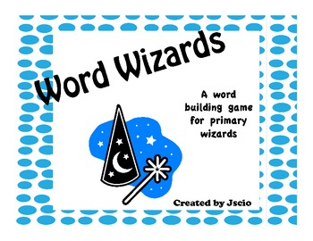 Word Wizard {a word building game}