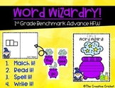 Word Wizardry - aligned to 1st Grade Benchmark Advance