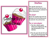 Word Word Center - Contraction Cupcakes