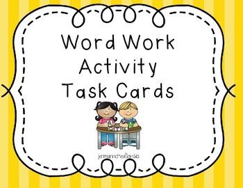 Word Word Task Cards