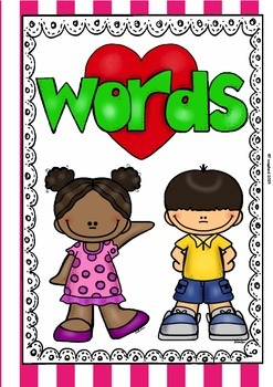 Word Work (11 Posters and 11 Cards)