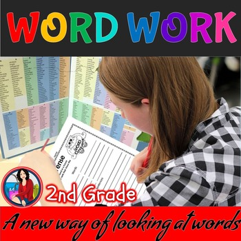 Word Work Activities for the Whole Year 2nd Grade