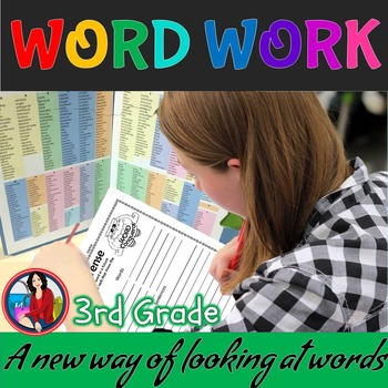 Word Work Activities for the Whole Year 3rd Grade