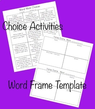 Word Work Roots Lists & Quizzes Grades 3 - 6