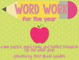Word Work: A BIG Resource of Phonics, Word Families, and Spelling Work