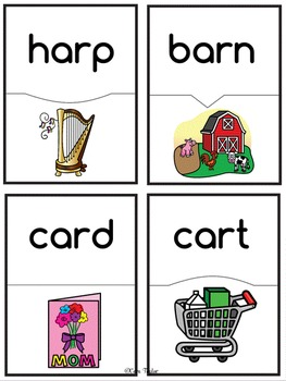 Word Work AR Words (R Controlled Vowels)