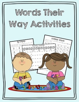 Words Their Way Activities {30 Engaging Activities}
