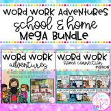 Word Work Activities for Guided Reading and Home MEGA Bundle