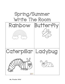 Word Work Activities for Pre K to Grade 1
