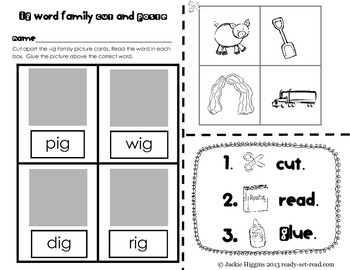 Word Work Activities for Short I