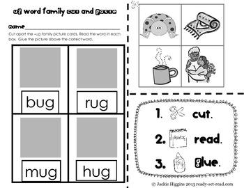 Word Work Activities for Short U