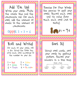 """Word Work Task Cards and Recording Sheets for the """"Number Smart"""" Individual"""