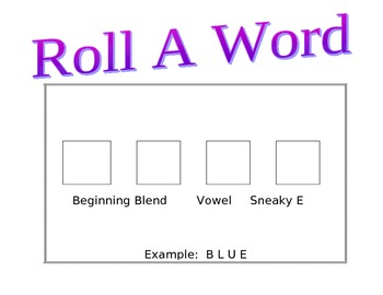 Word Work Activity Boards- editable!