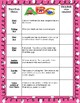 Word Work Activity Checklist
