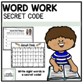 Word Work Activity Set