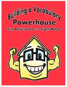 Word Work Activity - Sight Words Week 25 - 30