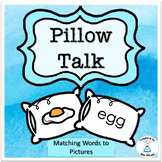 Word Work Activties - Pillow Talk