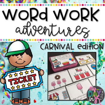 Word Work Adventures: Carnival Edition