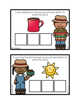 Word Work Task Card Adventures: Farmer's Market Edition