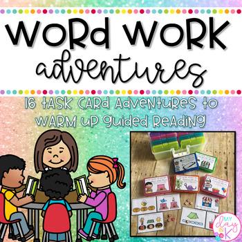Word Work Adventures Growing Bundle
