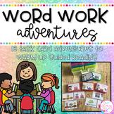Word Work Task Card Adventures BUNDLE