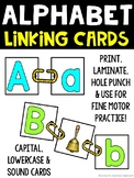 Word Work: Alphabet Sounds and Letter Linking cards