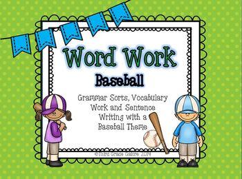 Word Work - Baseball