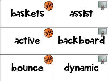 Word Work - Basketball
