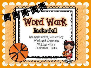 Word Work - Basketball