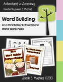 Word Work - Be a Word Builder Extraordinaire! - Literacy Center Activity