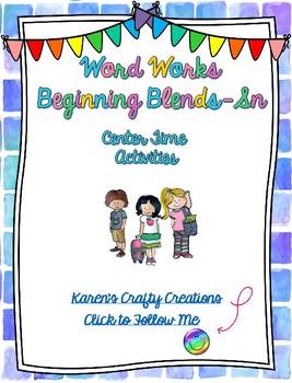 Word Work: Beginning Blends - SN