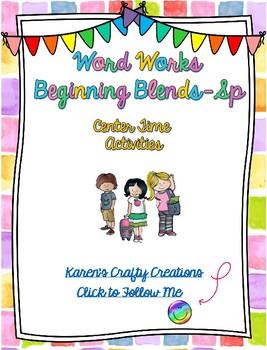 Word Work: Beginning Blends - SP