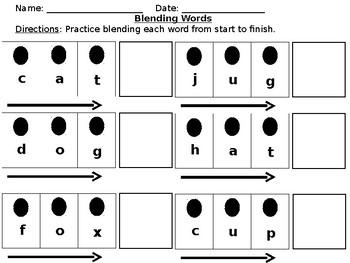 Word Work (Blending and CVC)